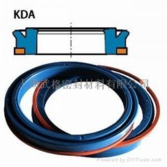 活塞(孔)用KDA型 聚氨酯加挡圈Y型圈