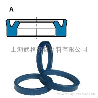 活塞杆(軸)用A型 聚氨酯 Y型圈 1