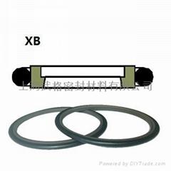 活塞杆(軸)用XB型 聚四氟乙烯+丁腈橡膠 斯特封