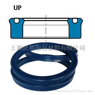 活塞杆、活塞(孔軸)通用UP型 聚氨酯 密封圈 1