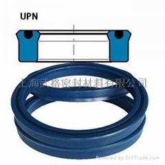 活塞/活塞杆(孔/軸)通用UPN型 聚氨酯+丁腈橡膠 密封圈