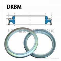 液压防尘 DKBM型  聚氨酯+金属环 密封圈