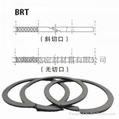 U型背托环BRT型 聚四氟乙烯/尼龙 密封圈