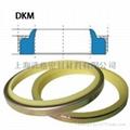 液压防尘DKM型 聚氨酯+金属
