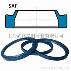 液压防尘SAF型 聚氨酯 单唇 密封圈