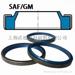 液壓防塵SAF/GM型 聚氨酯+金屬骨架 密封圈