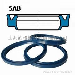 液压防尘SAB型 聚氨酯 双唇密封圈