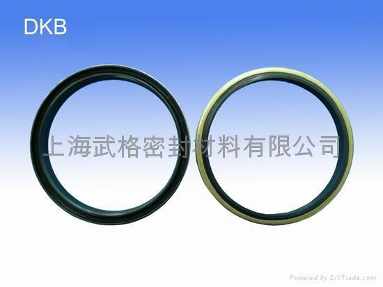 液压防尘 DKBH型 丁腈橡胶+金属环 密封圈 2