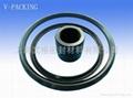 活塞/活塞杆(孔/軸)用 VPF/VPH型 夾布丁腈橡膠 密封圈 2