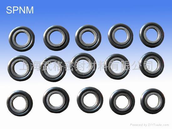 活塞杆(轴)用 SPNM型 聚四氟乙烯+丁腈橡胶 密封圈 2