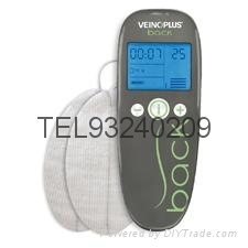 首部針對靜脈曲張電刺激儀Veinoplus V.I.舒背樂舒足健