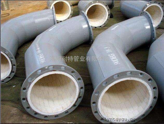 水泥厂耐磨衬瓷管道 1