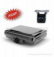 720P 雙鏡頭行車記錄器