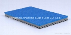 IAAF Certified Prefabricated Rubber Track For Running Sport