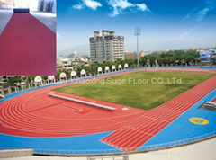 IAAF Certified Huadongtrack Sports Running Track for Stadium