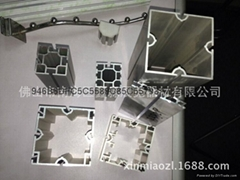 廣交會特裝鋁料八分方柱