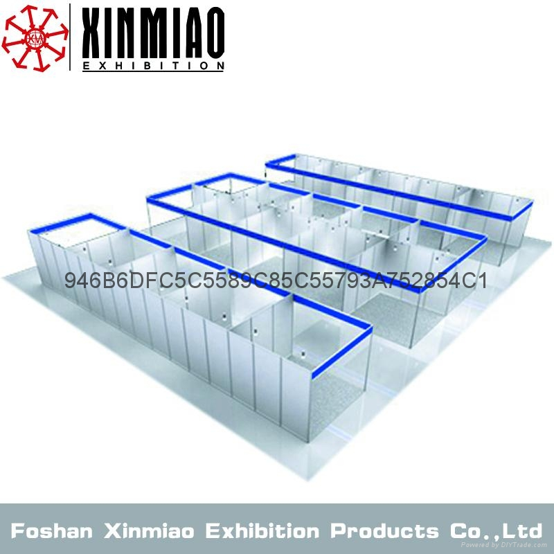 Exhibition Booth Supplier Sia : Exhibition booth for tradeshow aluminum custom stand