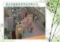 展覽展示八稜柱屏風展示架 4