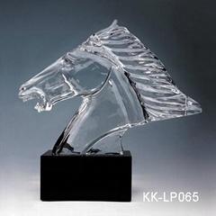廈門水晶模型獎杯