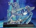厦门水晶模型奖杯 5