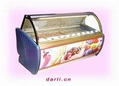 卧式冰激凌冷柜