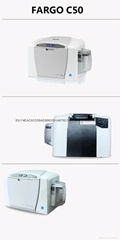 HID C50证卡打印机
