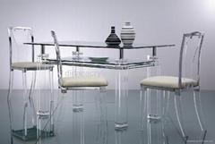 压克力餐台 有机玻璃餐台