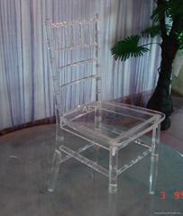 压克力竹节椅