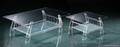 PLEXIGLASS ACRYLIC CLEAR  COFFEE TABLE 1