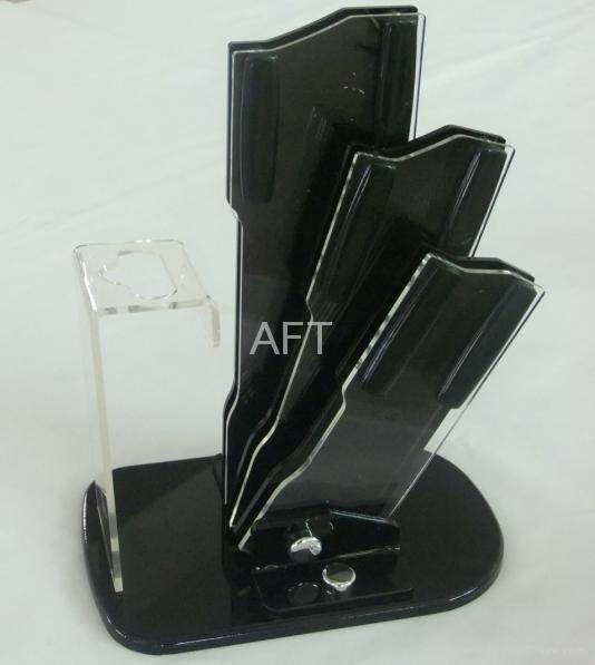 acrylic knife stand 1