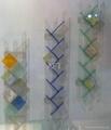acrylic CD rack