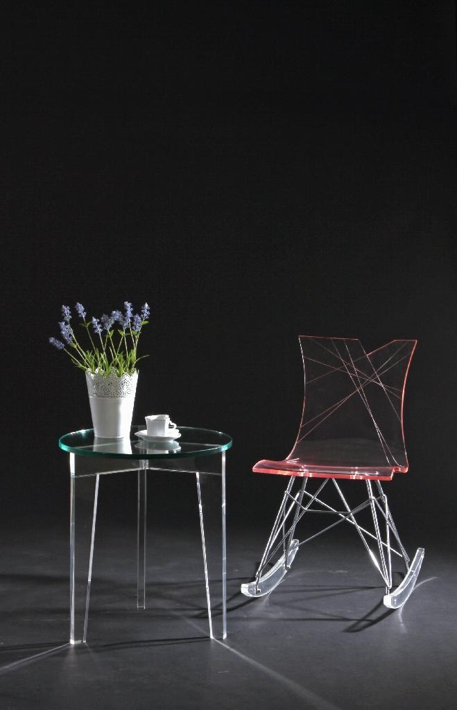 Acrylic side table 1