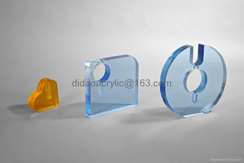 acrylic vase, plexiglass clear glass vase   1