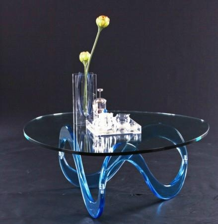 acrylic cocktail table lucite glass table 3