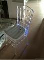 transparent acrylic chiavari wedding led