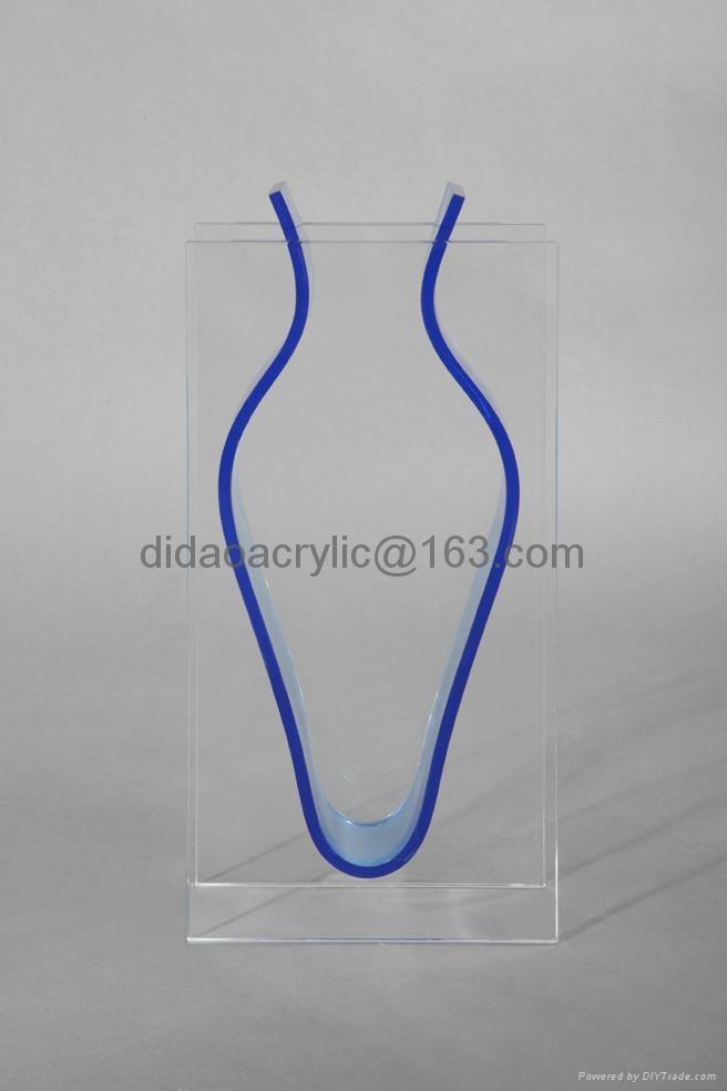 acrylic vase glass vase plexiglass vase 1