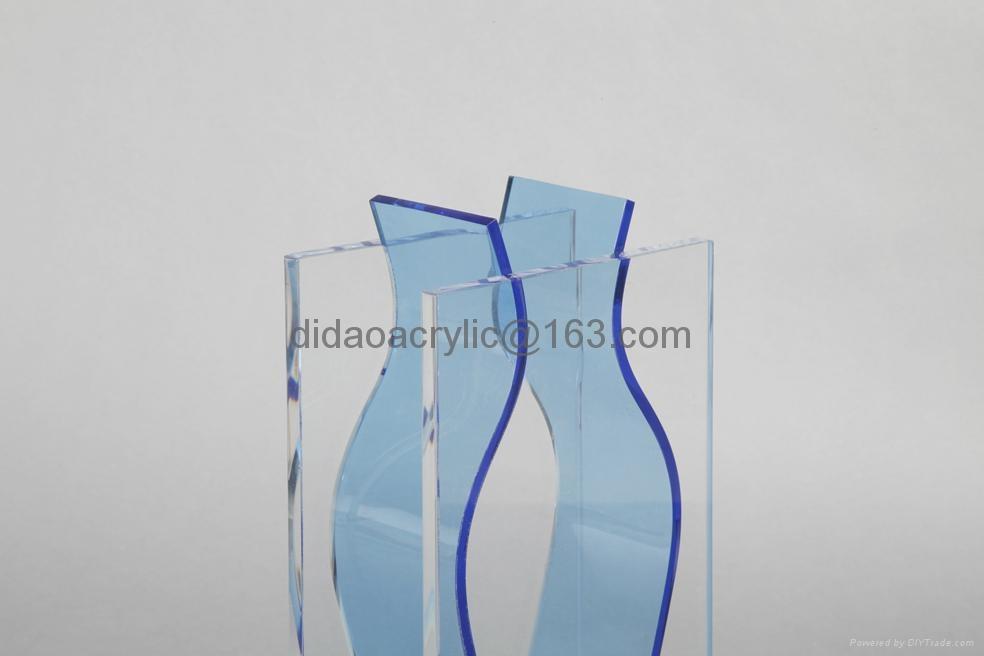 有机玻璃透明花瓶 3