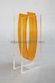 perpex glass vase acrylic vase  2