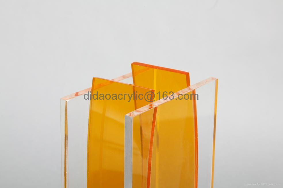 perpex glass vase acrylic vase  3