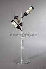 acrylic wine holder ,clear acrylic holder