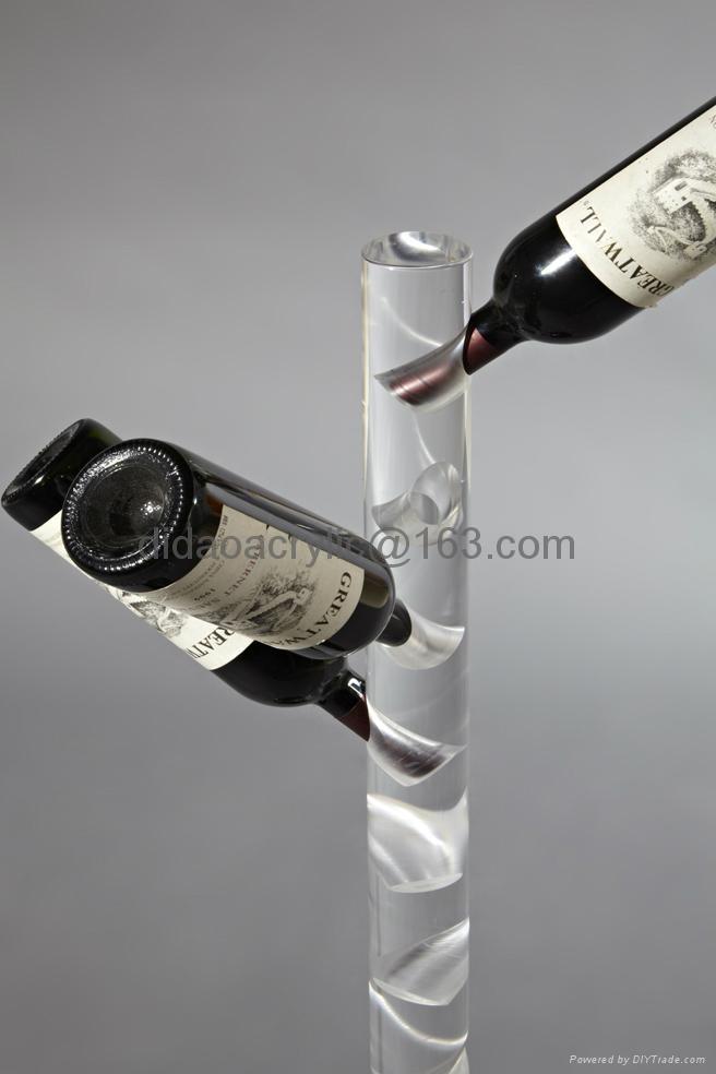 壓克力透明酒展示架 2