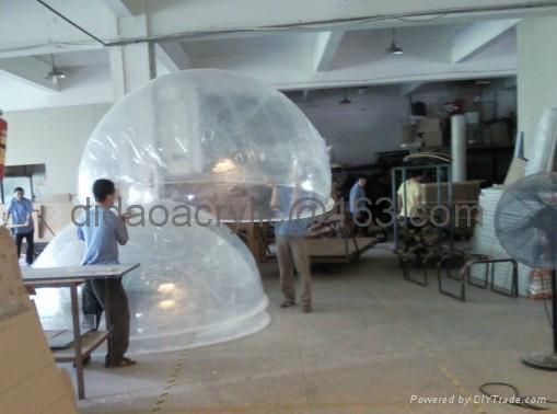 acrylic dome , acrylic ball,plexiglass dome 2