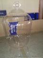 acrylic container, acrylic earthen jar,