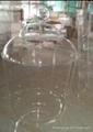 acrylic container, acrylic earthen jar, acrylic jar