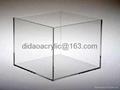 Acrylic transparent cube