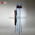 Acrylic clothes hanger