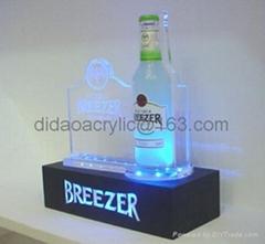 LED 灯压克力展示架