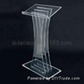 acrylic lecturn , acrylic pulpit ,