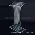 acrylic lecturn , acrylic pulpit , pelxiglass pulpit