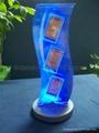 acrylic led display, acrylic LED file holder , acrylic led display stand